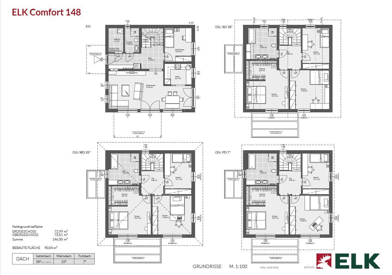 Comfort 148 plans 1