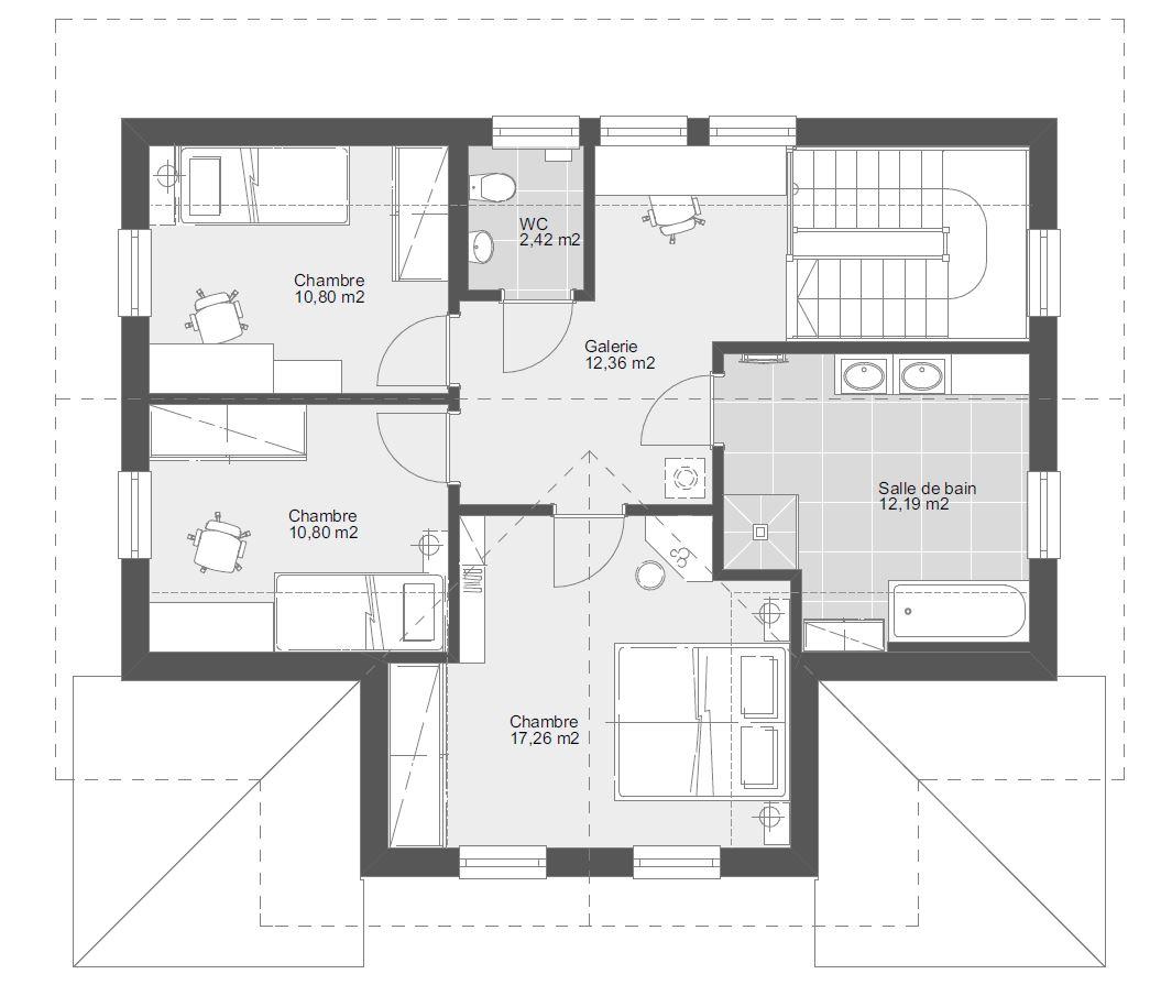 ELKHaus 146 Etage 2 pans