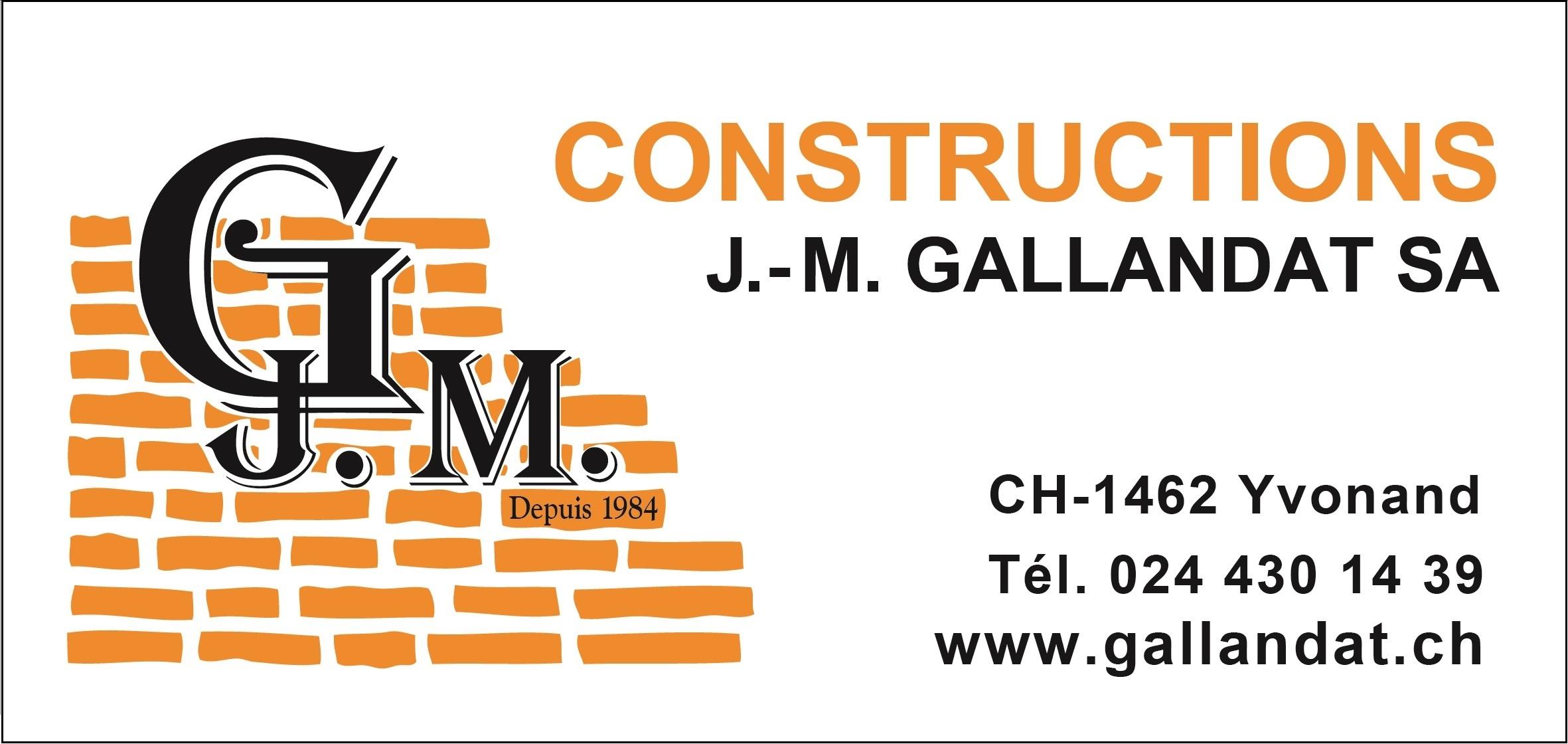 Panneau PUB  J.-M. Gallandat SA Constructions_1