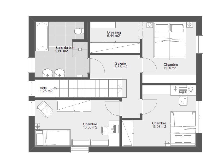 TL 129 Etage toit plat_1