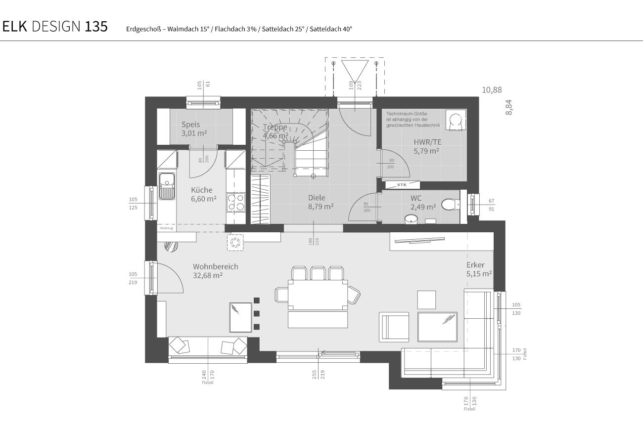 grundriss-elk-fertighaus-elk-design-135-EG-WD-FD-SD25-SD40