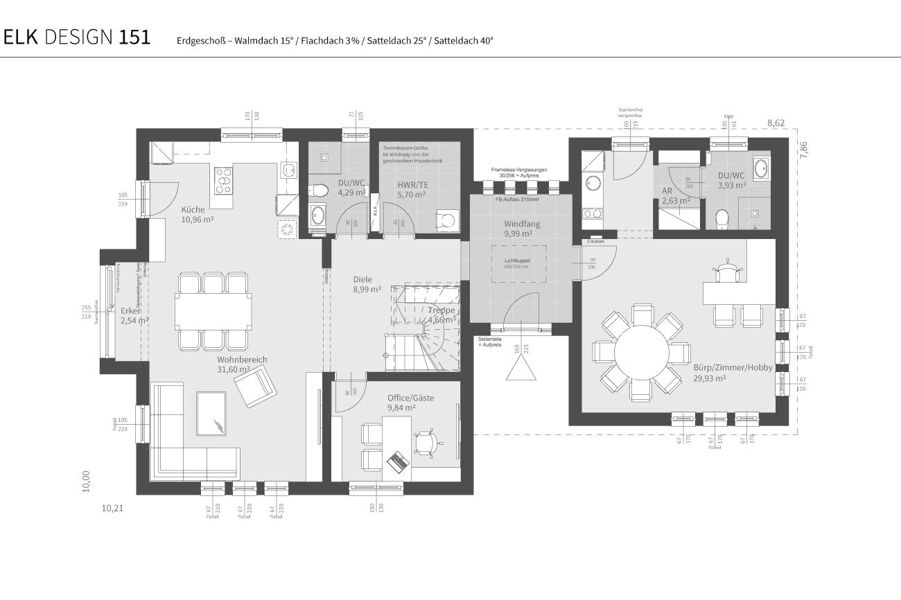 grundriss-elk-fertighaus-elk-design-151-EG-WD-FD-SD25-SD40